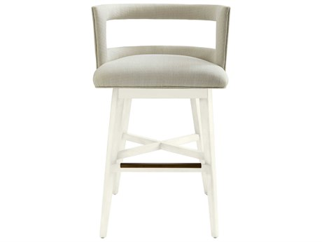 Stanley Furniture Coastal Living Oasis Saltbox White Crestwood Bar Stool