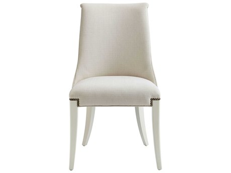 Stanley Furniture Coastal Living Oasis Saltbox White Wilshire Host Chair