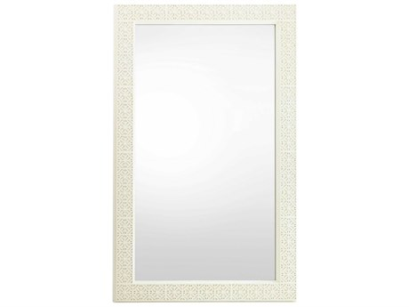 Stanley Furniture Coastal Living Oasis Saltbox White 46''L x 75.5''H Rectangular Catalina Floor Mirror