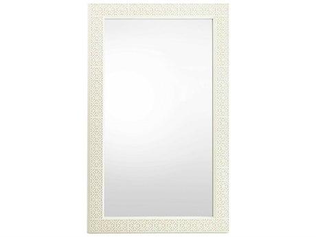 Stanley Furniture Coastal Living Oasis Saltbox White 46.625''L x 75.5''H Rectangular Catalina Floor Mirror