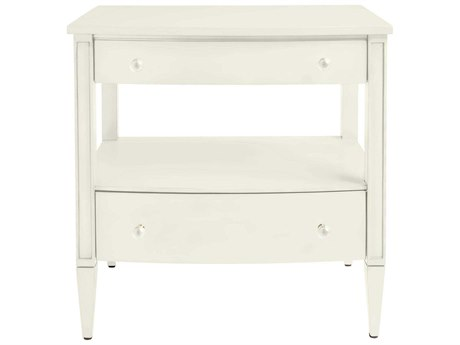 Stanley Furniture Coastal Living Oasis Saltbox White 28.25''L x 18.5''W Rectangular Mulholland Nightstand