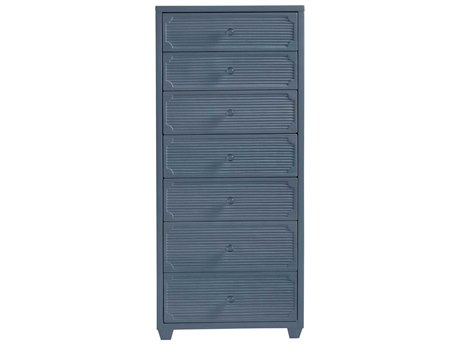 Stanley Furniture Coastal Living Oasis Cotswold Blue Seadrift Lingerie Chest