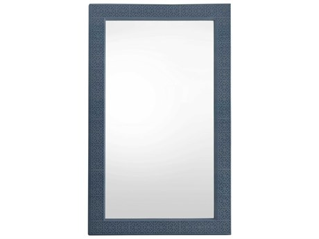 Stanley Furniture Coastal Living Oasis Cotswold Blue 47''L x 75.5''H Rectangular Catalina Floor Mirror