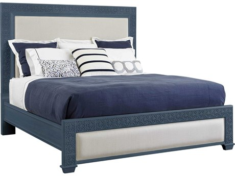Stanley Furniture Coastal Living Oasis Cotswold Blue Queen Catalina Panel Bed