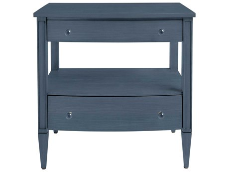 Stanley Furniture Coastal Living Oasis Cotswold Blue 28.25''L x 18.5''W Rectangular Mulholland Nightstand
