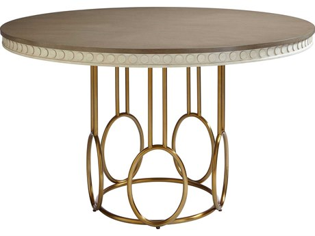 Stanley Furniture Coastal Living Oasis Oyster 56'' Round Venice Beach Dining Table