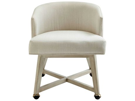 Stanley Furniture Coastal Living Oasis Oyster Carlyle Dining Arm Chair