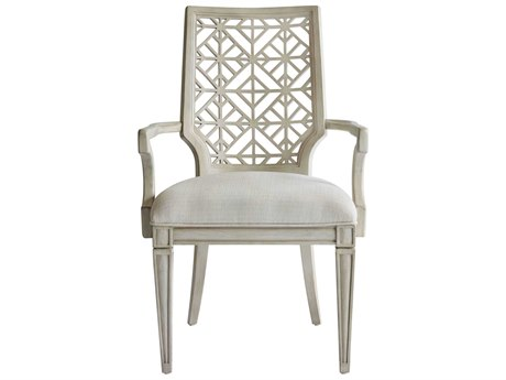 Stanley Furniture Coastal Living Oasis Oyster Catalina Dining Arm Chair