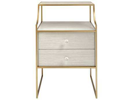 Stanley Furniture Coastal Living Oasis Oyster 20''L x 18''W Rectangular Ocean Park Telephone Table
