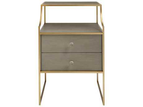 Stanley Furniture Coastal Living Oasis Grey Birch 20''L x 18''W Rectangular Ocean Park Telephone Table
