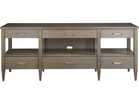 Stanley Furniture Coastal Living Oasis Grey Birch 74''L x 18''W Mulholland Media Console
