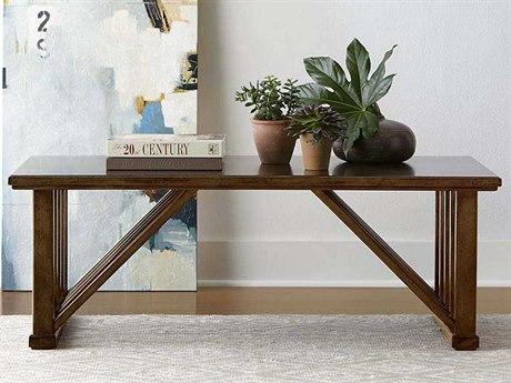 Stanley Furniture Santa Clara Burnished Walnut 50''L x 27.9921''W Rectangular Cocktail Table