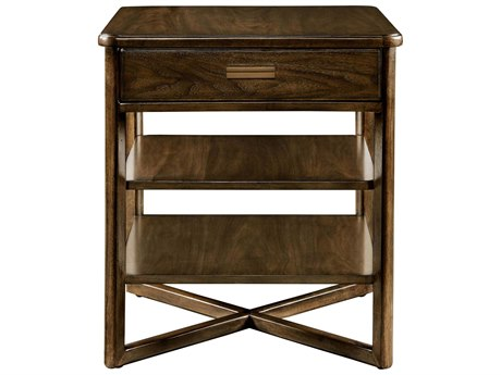 Stanley Furniture Santa Clara Burnished Walnut 26'' Square End Table