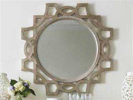 Stanley Furniture Juniper Dell Tarnished Silver Leaf 38'' Mirror Accent Wall Mirror