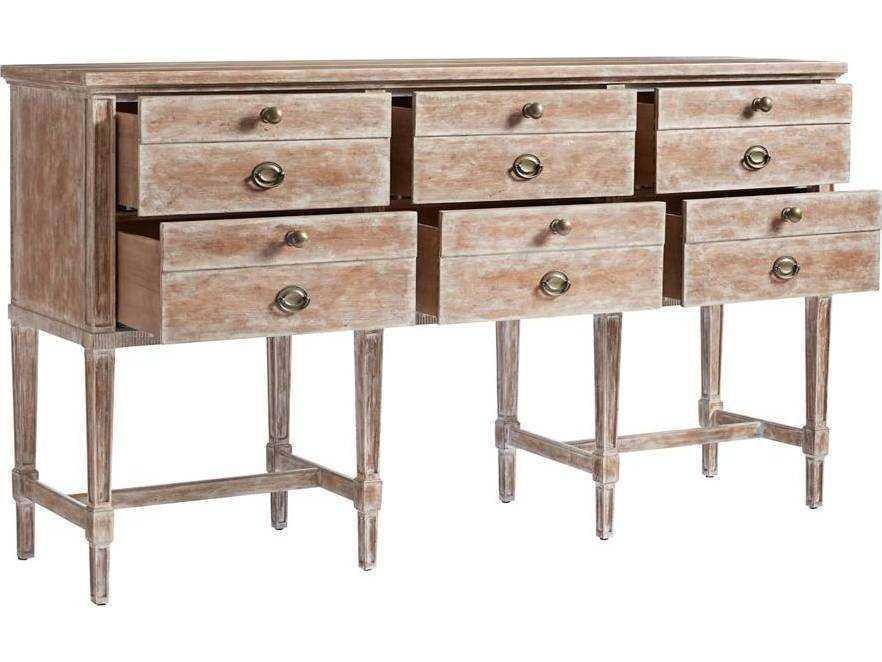 Stanley Furniture Juniper Dell English Clay 74 W X 19 D