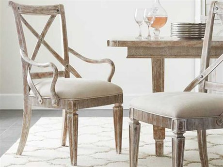 Stanley Furniture Juniper Dell English Clay Dining Arm Chair