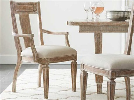 Stanley Furniture Juniper Dell English Clay Contemporary Dining Arm Chair