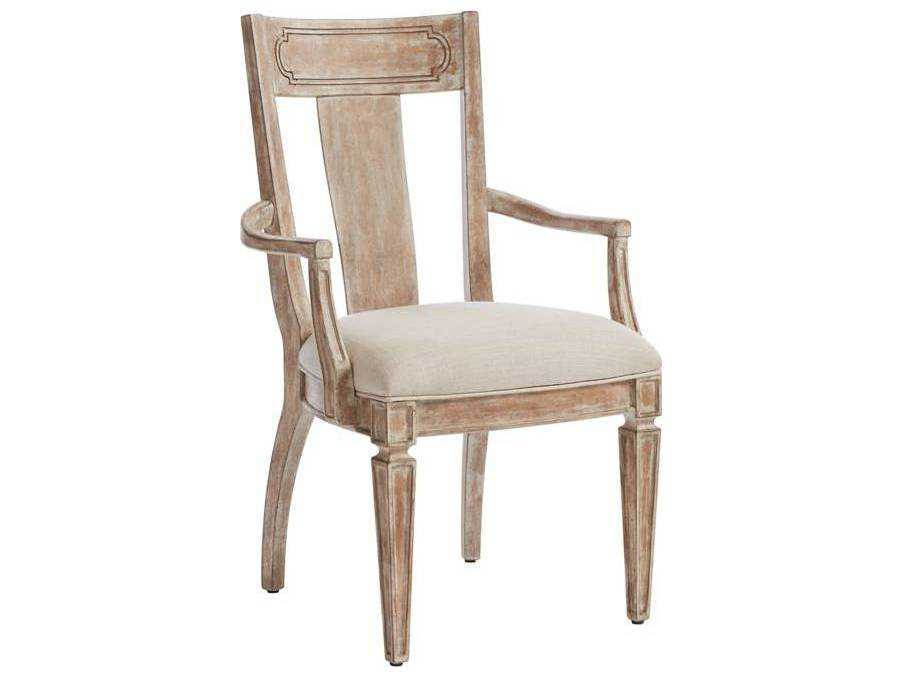 Juniper Dell English Clay Contemporary Dining Arm Chair SL6156175