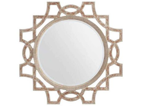 Stanley Furniture Juniper Dell English Clay 38''W x 46.5''H Accent Wall Mirror