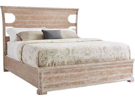 Stanley Furniture Juniper Dell English Clay King Size Panel Bed