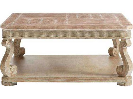 Stanley Furniture Juniper Dell English Clay 40'' Square Cocktail Table