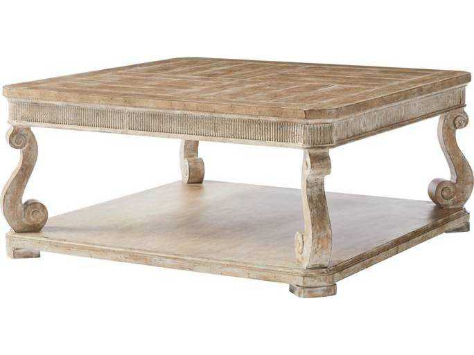 Stanley Furniture Juniper Dell English Clay 40 39 39 Square Cocktail Table Sl6156501