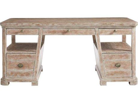 Stanley Furniture Juniper Dell English Clay 66''L x 34''W Rectangular Writing Desk