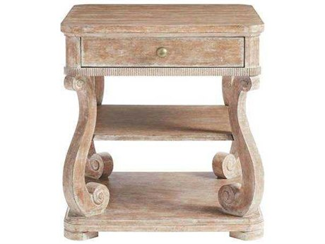 Stanley Furniture Juniper Dell English Clay 26''L x 28''W Rectangular End Table
