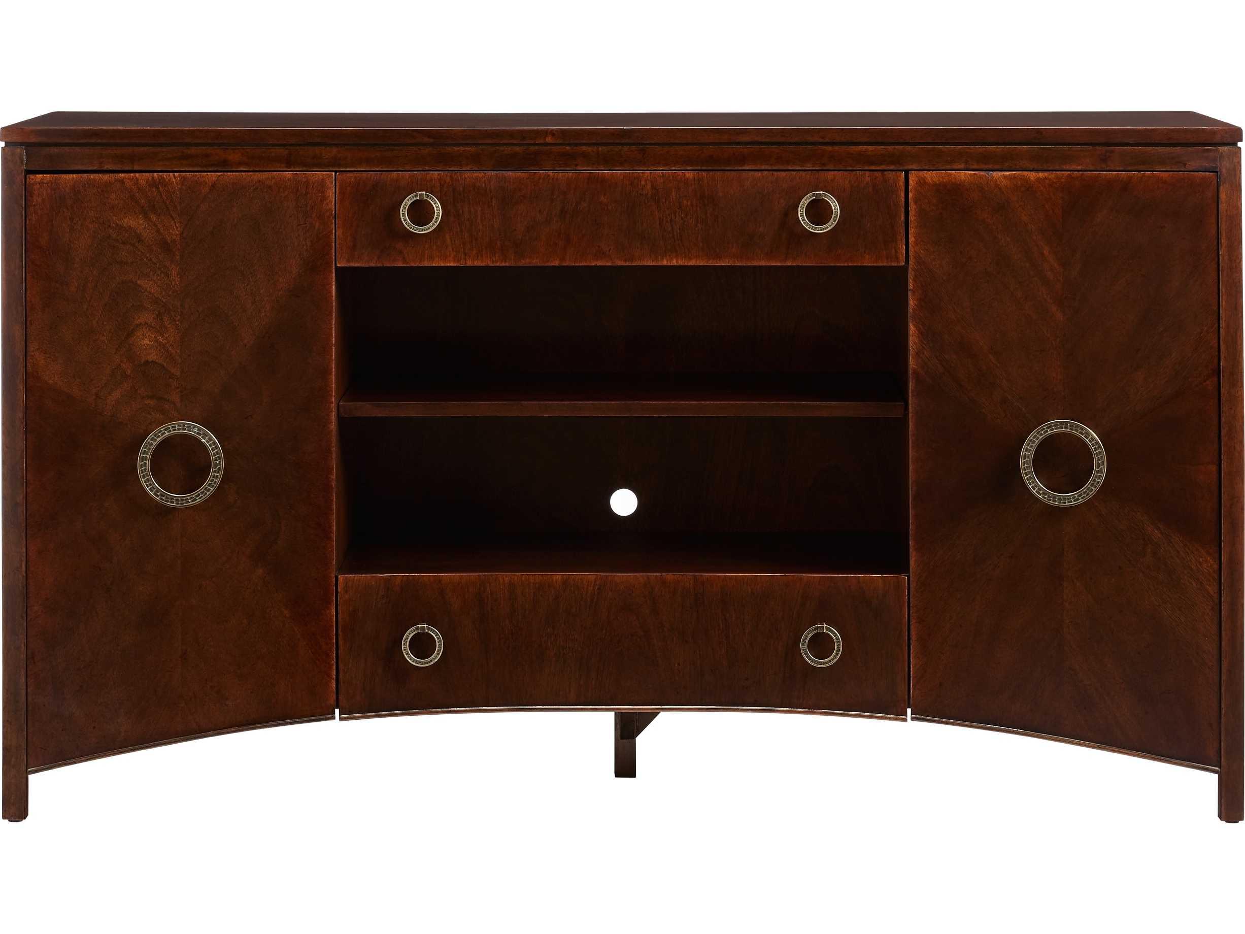 Stanley Furniture Havana Crossing Colonial Mahogany 65 L
