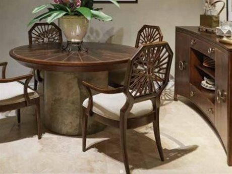 Stanley Furniture Havana Crossing Colonial Mahogany Dining Room Set