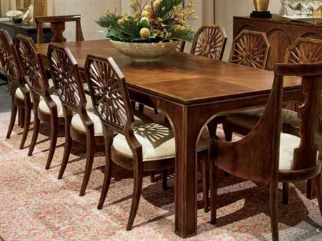 Stanley Furniture Havana Crossing Colonial Mahogany 109.5''L x 42''W Rectangular Concordia Dining Table