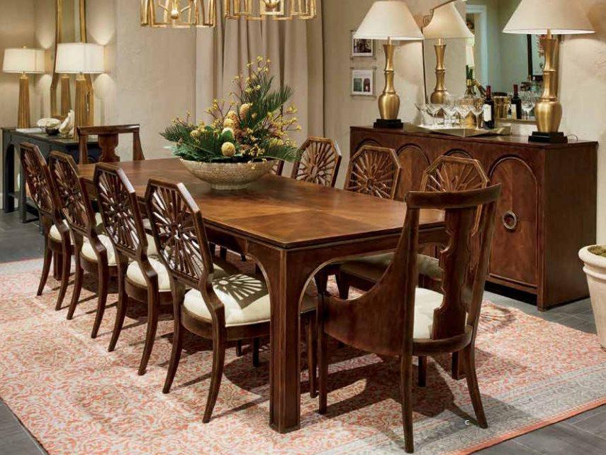 stanley furniture dining room set | Stanley Furniture Havana Crossing Dining Room Set ...