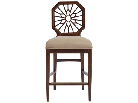 Stanley Furniture Havana Crossing Colonial Mahogany Lasa Counter Stool