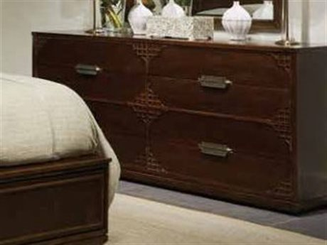 Stanley Furniture Havana Crossing Colonial Mahogany Copa Colonial Eight-Drawer Dresser