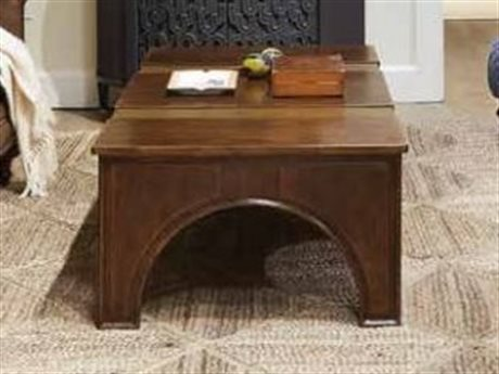 Stanley Furniture Havana Crossing Colonial Mahogany 55''L x 30''W Rectangular Portico Cocktail Table