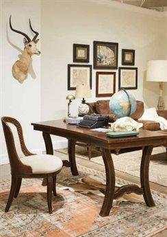 Stanley Furniture Havana Crossing Secretary Desk Home Office Set