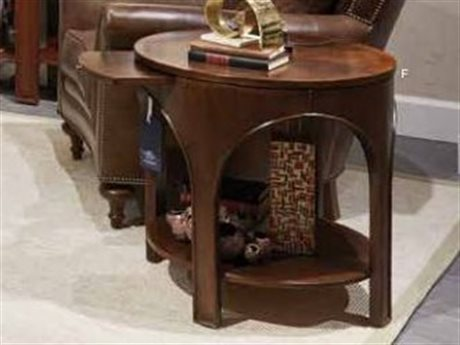 Stanley Furniture Havana Crossing Colonial Mahogany 26'' Round Portico Lamp Table