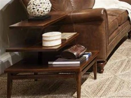 Stanley Furniture Havana Crossing Colonial Mahogany 20''L x 26''W Rectangular High Dive End Table