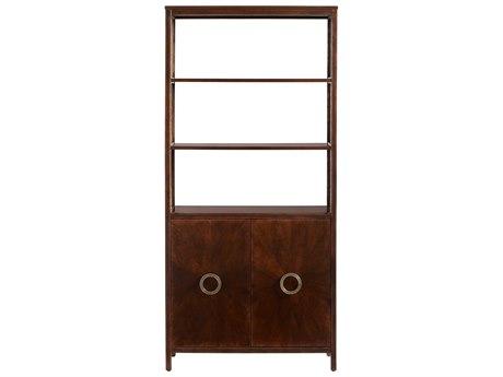 Stanley Furniture Havana Crossing Colonial Mahogany 36''W x 14''D Promenade Bookcase