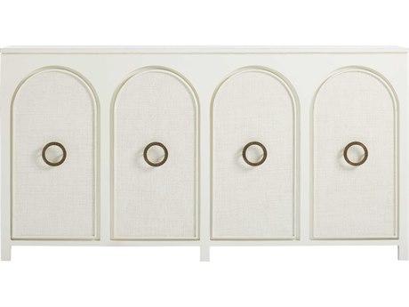 Stanley Furniture Havana Crossing Finca White 74.5''L x 20''W Nuevo Vedado Buffet