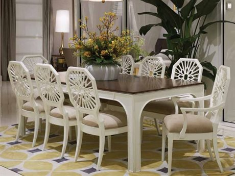 Stanley Furniture Havana Crossing Finca White Dining Room Set