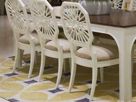 Stanley Furniture Havana Crossing Finca White Lasa Dining Side Chair