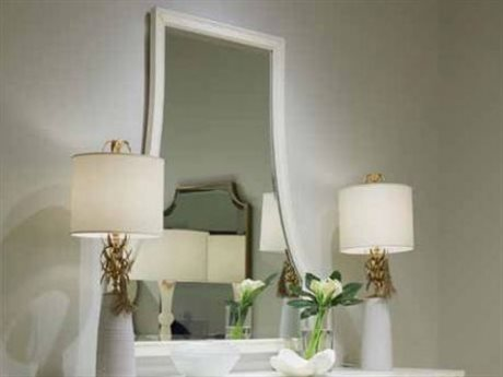 Stanley Furniture Havana Crossing Finca White 42''W x 50''H Ventana Dresser Mirror