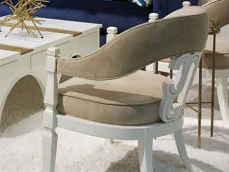 Stanley Furniture Havana Crossing Finca White Cadena Conversation Chair