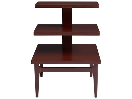 Stanley Furniture Havana Crossing Masonic Red 20''L x 26''W Rectangular High Dive End Table