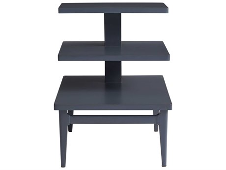 Stanley Furniture Havana Crossing Indigo Blue 20''L x 26''W Rectangular High Dive End Table