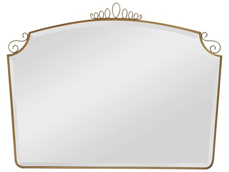 Stanley Furniture Havana Crossing Murcielago Brass 52''W x 40''H Rectangular Auto Dresser Mirror