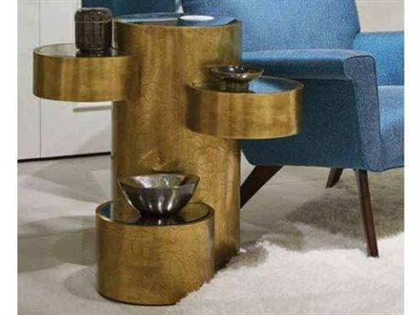 Stanley Furniture Havana Crossing Murcielago Brass 29''L x 22''W Murcielago Lobby Lamp Table