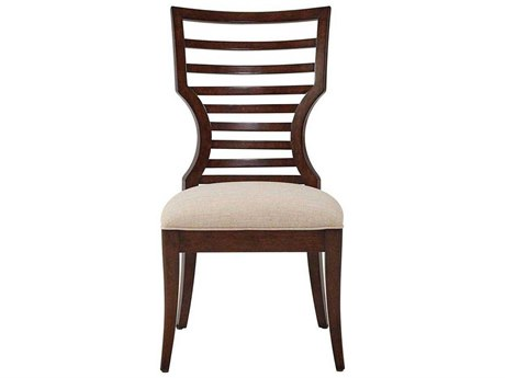 Stanley Furniture Virage Truffle Wood Dining Side Chair