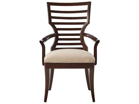 Stanley Furniture Virage Truffle Dining Arm Chair